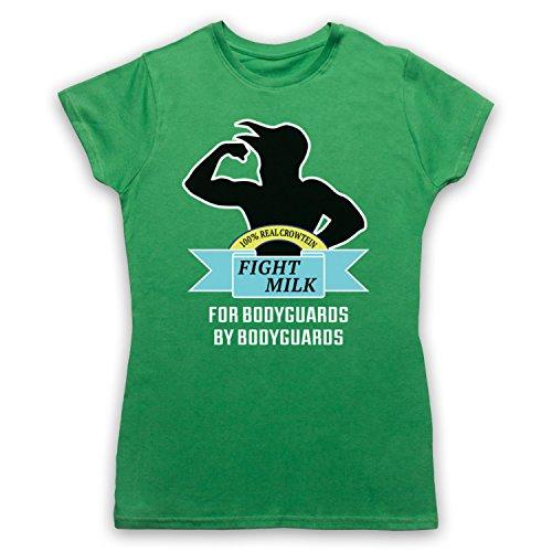 Inspiriert durch It's Always Sunny In Philadelphia Fight Milk Inoffiziell  Damen T-Shirt Grun