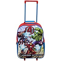 Kids Disney Marvel Wheeled Trolley Case (Avengers Initiative)