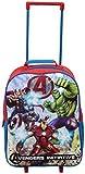 Trolley per bambini, con personaggi Disney e Marvel rosso Avengers Initiative SML