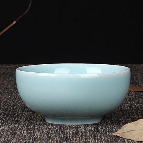 SX-ZZJ Schüssel Celadon Geschirr Keramik Keramik Reis Schüssel Retro Chinesischen Suppe Schüssel hitzebeständig Mikrowelle zur Verfügung (Farbe : B)