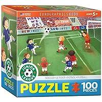 Eurographics Soccer Junior League Puzzle (60 Pieces)