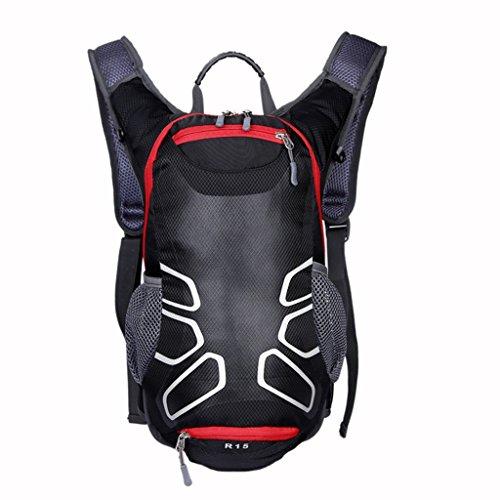 BAIDO Fahrrad-Rucksack, Sport-Rucksack, Fahrradhelm-Tasche, Trekking Reisetasche