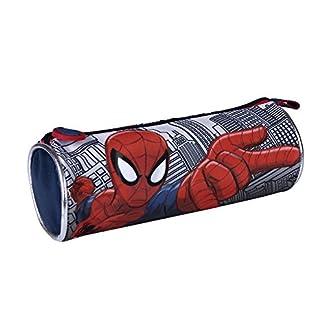 Portatodo cilíndrico de Spiderman