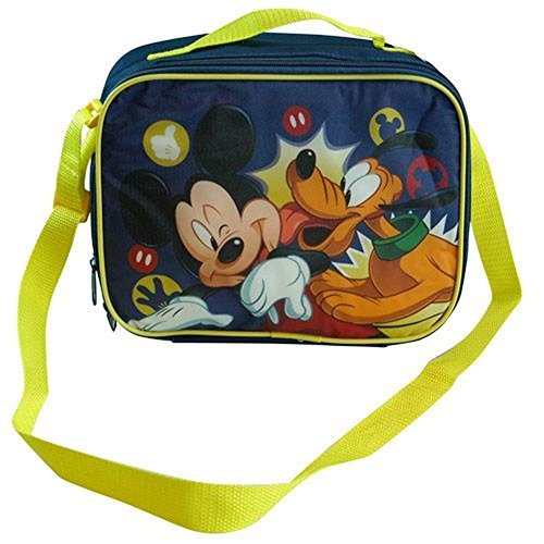 Disney Mickey Mouse & Pluto Insulated Soft Lunch Box by Disney (Pluto Lunch-box)