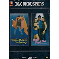 DILWALE DULHANIA LE JAYENGE + DIL TO PAGAL HAI SPECIAL 3 DVD BOLLYWOOD METAL SET