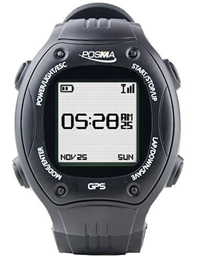 BEST BUY #1 POSMA W2 GPS NAVIGATION RUNNING CYCLING HIKING MULTISPORT WATCH WITH ANT+ COMPATIBILITY STRAVA MAPMYRIDE/MAPMYRUN – BLACK REVIEWS AND PRICE COMPARE UK