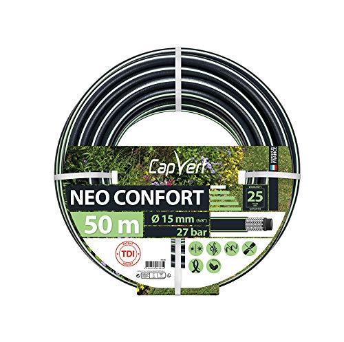 Cap Vert Tuyau d'arrosage Néo Confort Diamètre 15 mm - Longueur 50 m