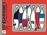 DJECO Juegos de cartasJuegos de cartasDJECOCartas Sardines, (36)