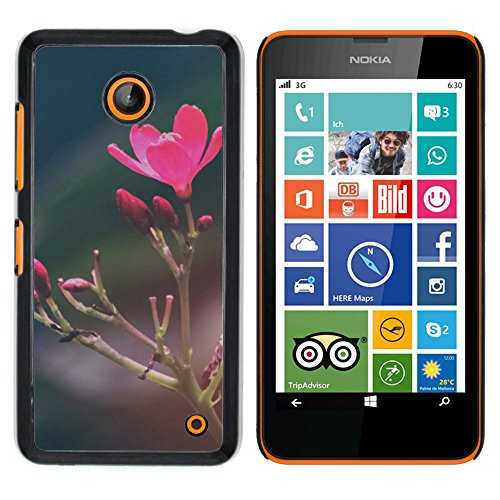 OB-star ( flor de la vendimia ) NOKIA Lumia 630 Impreso Colorido Protector Duro Espalda Funda Piel De Shell