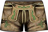 Boxershort Lederhose = Das Original direkt von ITATI-Textilien (BXM-34078)