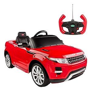 rastar- Coche de batería Land Rover Evoque de 6V-2.4G, Color Rojo (Colorbaby 85250)
