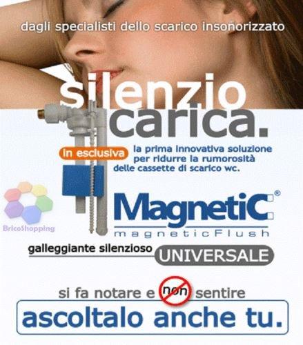 _ Bampi CMAGNGAL Magnetic Galleggiante per Cassetta Incon Esterna, Bianco confronta il prezzo online