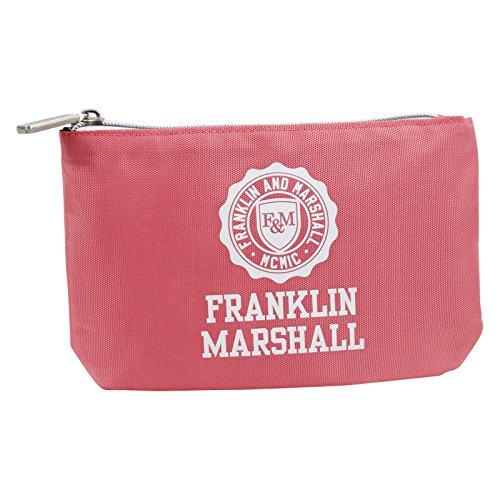 Franklin Marshall Feder Tasche Mit Power Bank Kosmetik Make-up Bag Aufbewahrungtasche Pink (Kosmetik Taschen Gucci)