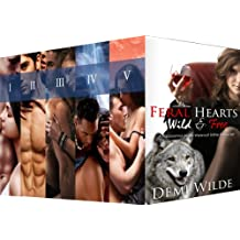 Wild and Free: A Paranormal Alpha Werewolf Shifter Boxed Set (Feral Hearts Book 6) (English Edition)