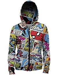 Sudadera hoodie con capucha estilo comic MV-MA052