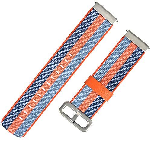 SHUNYUS Armband Armband Armband Sport Band Zubehör 20mm Leinwand Langlebig Für Für Huami Amazfit Jugendversion