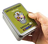 Limitless Equipment Mark 1kit di sopravvivenza: Mil-Spec, realizzato nel Regno Unito, formato tascabile, livello professionale contenuto. Imballato con più di 40pezzi, Inc. LED di emergenza, Fishing Gear, Fire making, tacti-glow cavo di sopravvivenza, bussola, sega, primo soccorso e molto altro