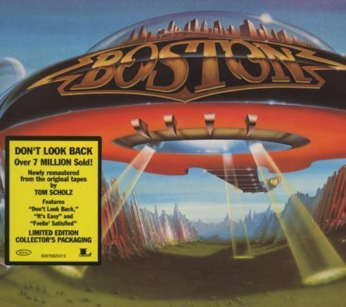 Don't Look Back by Boston Original recording remastered, Original recording reissued edition (2006) Audio CD