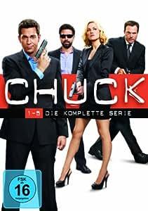 Chuck - Die komplette Serie (exklusiv bei Amazon.de) [23 DVDs]