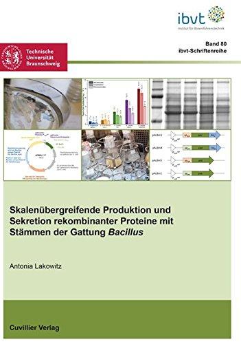 Skalenübergreifende Produktion und Sekretion rekombinanter Proteine mit Stämmen der Gattung Bacillus (Schriftenreihe des Institutes für ... Universität Braunschweig, Band 80)