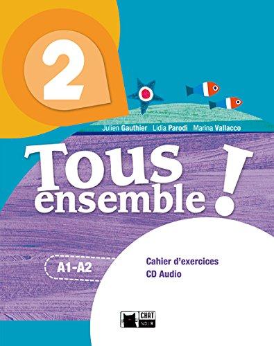 Tous Ensemble 2 Portfolio (Chat Noir. methodes) - 9788468217918 por De Agostini Scuola Spa