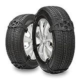 CARWORD 8Pcs Universal Snow Chain Snow Tire Belt Addensato Catene Anti-Scivolo Camion SUV Pneumatico TPU Nero per Snow Mud Road