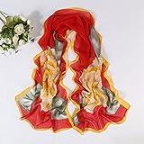 Materiale: chiffon  formato (CM): 50 * 160  caratteristiche: decorazione  appropriata stagione: primavera, estate, autunno  metodo di tessitura: tessitura piana