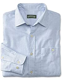 90b8613a8f83 Orvis Country Twill Spread Collar Long-Sleeved Shirt