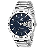#1: Espoir Analogue Blue Dial Men's Watch- ESP12457