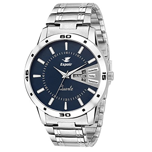 Espoir Analogue Blue Dial Men's Watch- Latest0507