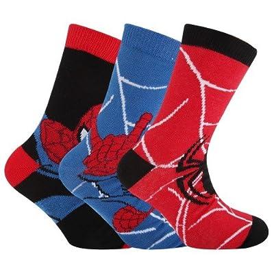 Marvel Spiderman - Chaussettes officielles (3 paires) - Enfant