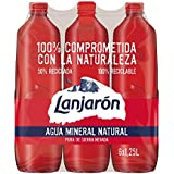 Lanjarón Agua Mineral Natural Sostenible - Pack 6 x 1,25 l