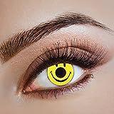 Smiley hochwertige farbige Kontaktlinsen für Freizeit Party Halloween Karneval
