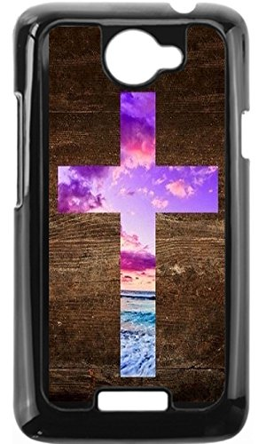Colour Cross (JiorJfe Custom HTC_One_X Case,Colour Cross Hard Plastic Hard Case for HTC_One_X)
