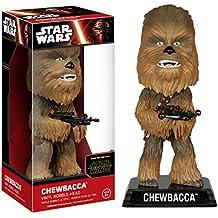 Star Wars Episode VII Wacky Wobbler Cabezón Chewbacca 15 cm Funko Bobble heads
