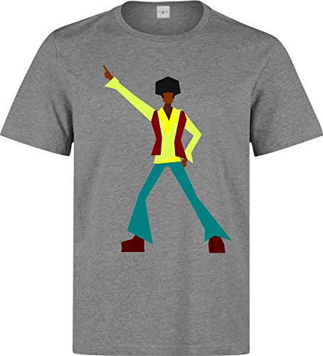 Disco Dancer Retro Old School Logo dope Herren Baumwolle t-Shirt XX-Large