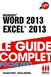 POCHE DUO£WORD EXCEL 2013
