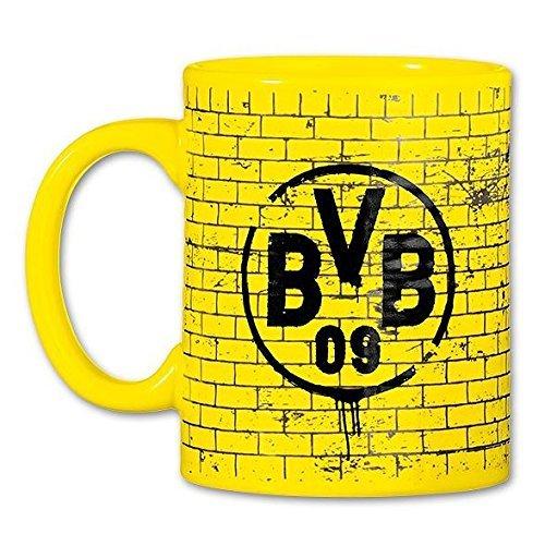 BVB BORUSSIA DORTMUND TASSE GELBE WAND Ultra Wand