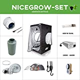 Growset Dark Box 145 EVSG 600W NDL Duallampe 600W Komplettset Cooltube Adjust