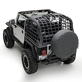 Smittybilt 521035 Black Diamond C.RES Systems Cargo Net for Jeep Wrangler by Smittybilt