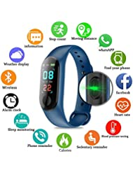 Pulsera inteligente/rastreador de fitness, pantalla de color HD IP68 impermeable M3 Plus pulsera