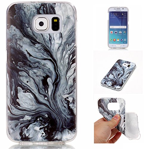 for-samsung-galaxy-s6-case-cover-ecoway-marble-pattern-tpu-clear-soft-silicone-back-colorful-printed
