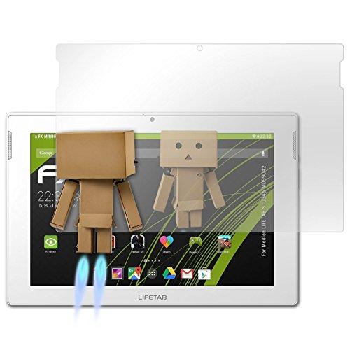 atFolix Bildschirmfolie für Medion LIFETAB S10345 MD99042 Spiegelfolie, Spiegeleffekt FX Schutzfolie