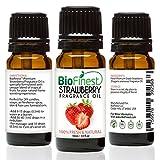 biofinest fresas fragancia aceite–100% pura y natural–de casa, aroma fresco–Aire de refresco–relajante aromaterapia–piel y cuidado del cabello–libre E-BOOK