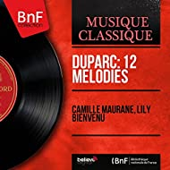 Duparc: 12 Mélodies (Mono Version)