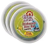 #1: Big Bazaar Combo - Clean Mate Dishwash Disc Bar - Lemon Fresh, 500g (Buy 2 Get 1, 3 Pieces) Promo Pack