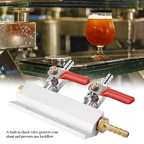 51jsHfLaOBL. SS500  - Gas Distribution - 2 Way Beer Gas Distributor Co2 Air Gas Manifold Distribution Splitter for Homebrew Beer Making…