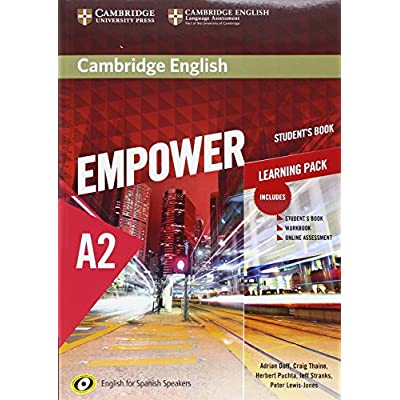 Download Cambridge English Empower For Spanish Speakers A2
