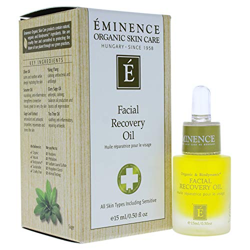 Facial Recovery Oil, 0.5 oz by Eminence Organic Skin Care