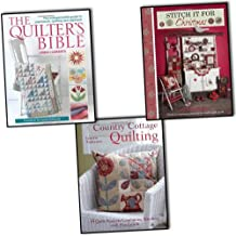 Linda Clements and Lynette Anderson Quilting and Stitching 3 Books Collection Pack Set RRP: £43.97 (The Quilter's Bible, Country Cottage Quilting, Stitch It for Christmas)